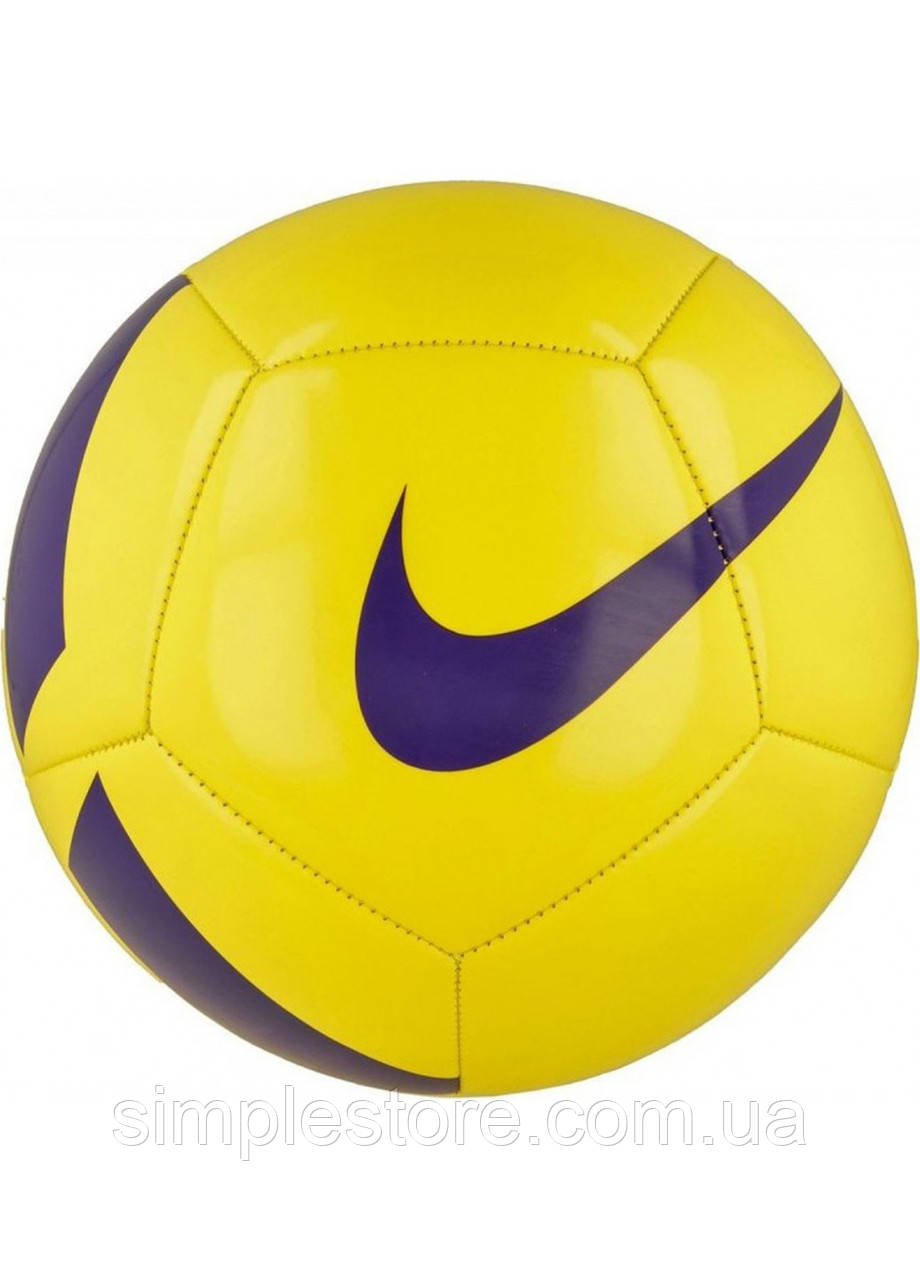 Мяч футбольный Nike Pitch Team SC3166-701 размер 5