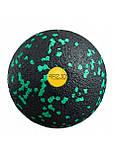 Массажный мяч 4FIZJO EPP Ball 08 4FJ1233 Black/Green, фото 2