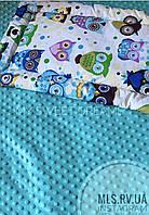Набор постельного белья в кроватку (+подушка и одеяло)