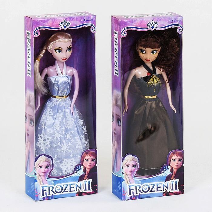 "Кукла ""Frozen"" YB001A-3  29 см, 2вида, муз., на батар., в коробке 32*14*5см"