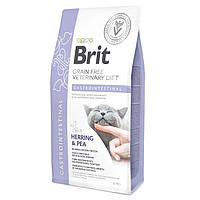 Brit Veterinary Diet Cat Grain free Gastrointestinal 0,4кг  - беззерновая диета при гастроэнтерите