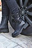 Женские ботинки кожаные зимние черные Carlo Pachini 4-2501/19-14, фото 3