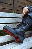 Женские ботинки кожаные зимние черные Carlo Pachini 4-2501/19-14, фото 2