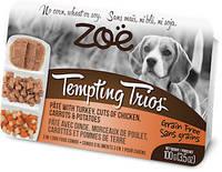 Zoe (Зои) Temping Trios индейка, курица, морковь и картофель