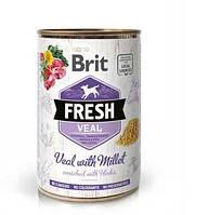 Brit Fresh Veal with Millet с телятиной и пшеном