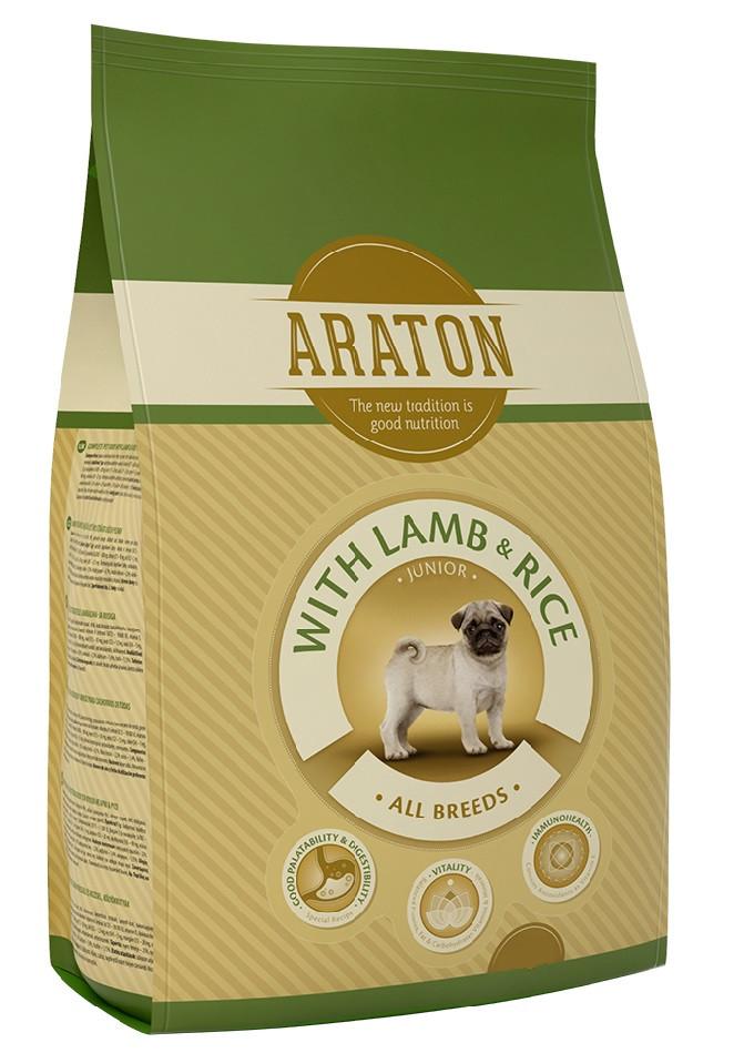 Araton Junior With Lamb & Rice сухой корм для щенков всех пород