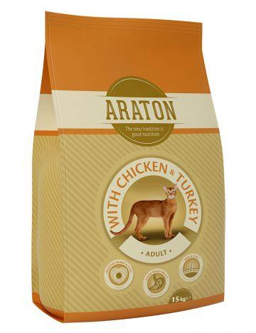 Araton Adult Chicken & Turkey cухой корм с курицей и индюшатиной
