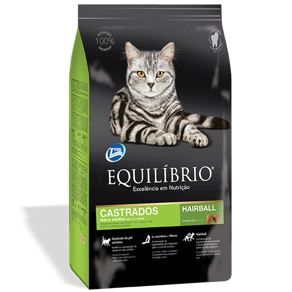 Equilibrio (Эквилибрио) Cat Adult Neutered сухой корм для стерилизованных кошек