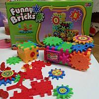Детский развивающий 3D конструктор Funny Bricks