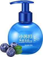 Гелевая отбеливающая зубная паста с экстрактами фруктов IMAGES Toothpaste 200 г Blueberry от зубного налета