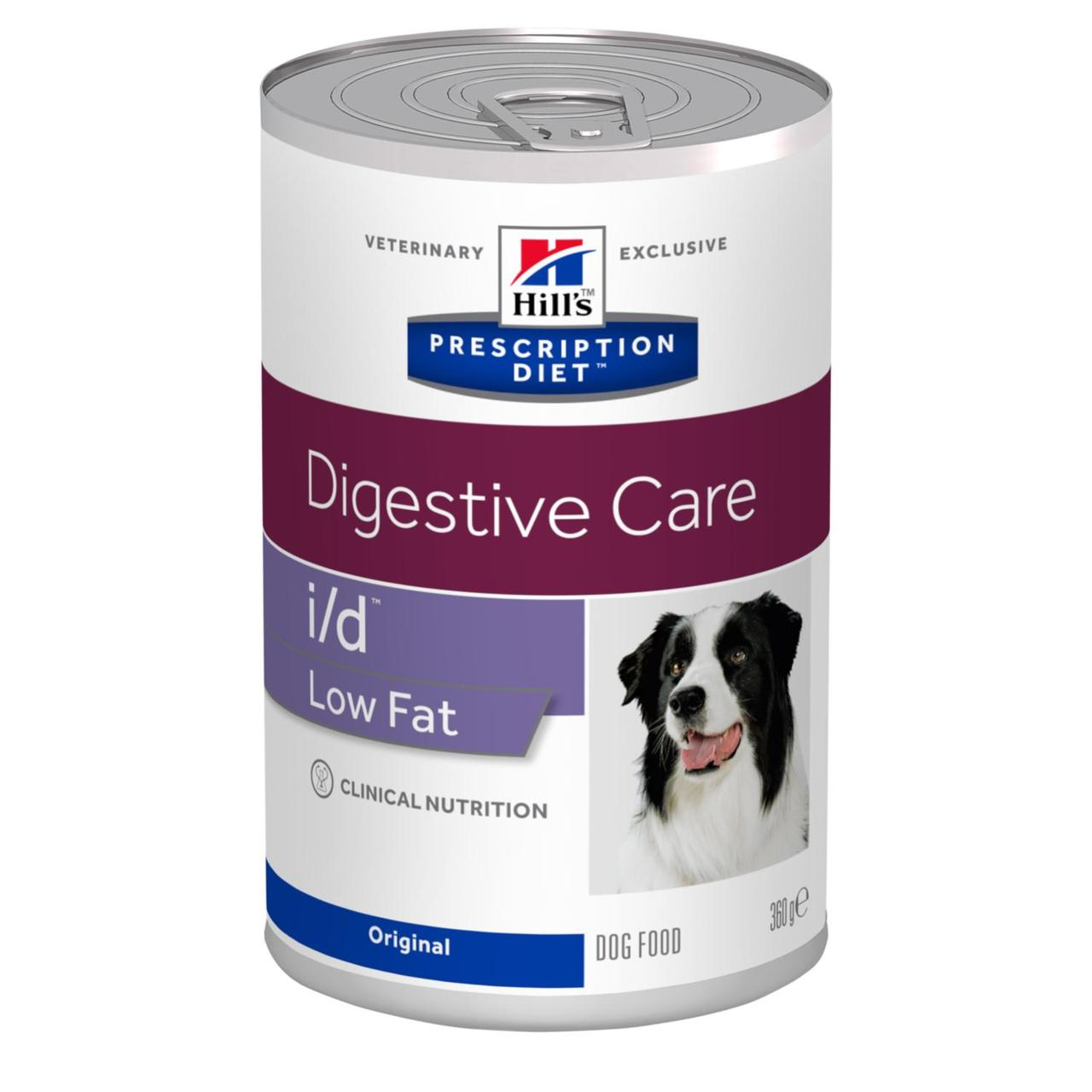 Hill's (Хиллс) I/D Degistive Care Low Fat лечебный влажный корм для собак