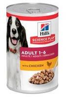 Hill's (Хиллс) Science Plan Adult Chicken влажный корм для собак с курицей