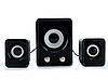Колонки Мощные для компьютера FT-202 Mini 2.1 - Сабвуфер USB Black, фото 2