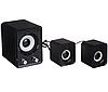 Колонки Мощные для компьютера FT-202 Mini 2.1 - Сабвуфер USB Black, фото 3