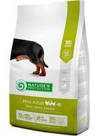 Nature's Protection Mini Adult сухой корм для собак мелких пород