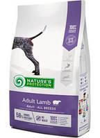 Nature's Protection Adult Lamb сухой корм для собак с бараниной