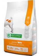 Nature's Protection Junior All Breeds сухой корм для юниоров всех пород