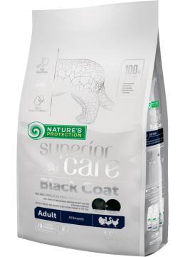 Nature's Protection Black Coat Adult сухой корм для собак с черным окрасом шерсти