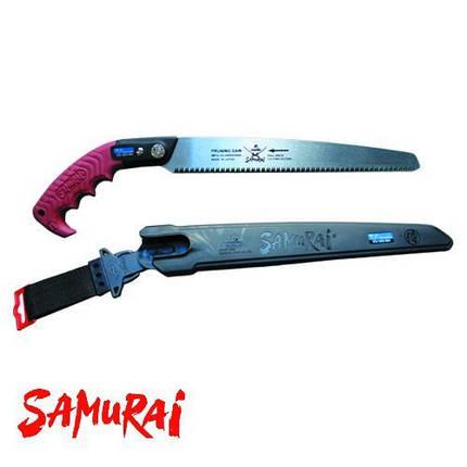 Пила Samurai (Япония) с прямым полотном в чехле, с поясным креплением (L=300 мм/3 мм), фото 2