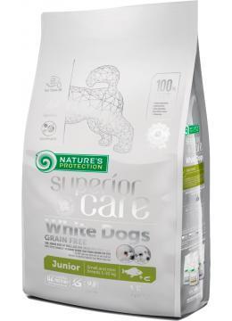 Nature's Protection White Dogs Grain Free Junior Small беззерновой корм для юниоров малых пород