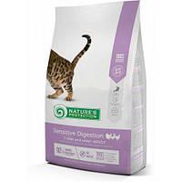 Nature's Protection Sensitive Digestion сухой корм для кошек с чувствительным пищеварением