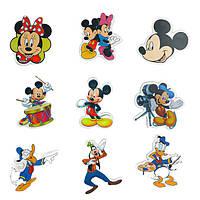 Набор виниловых наклеек Микки Маус и его Друзья на предметы 50 шт.