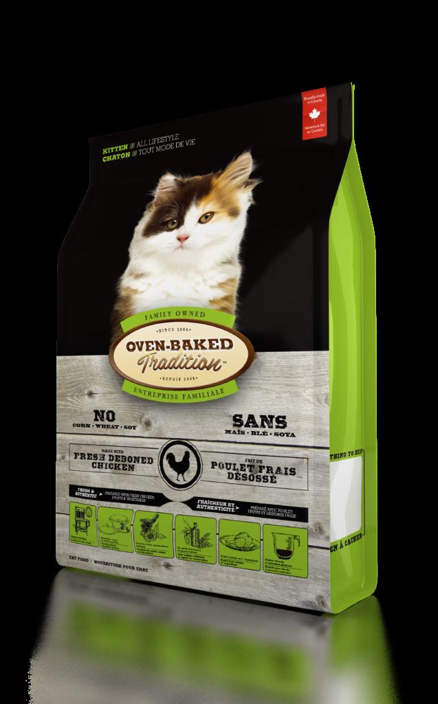 Oven-Baked Tradition Kitten Chicken сухой корм для котят с курицей