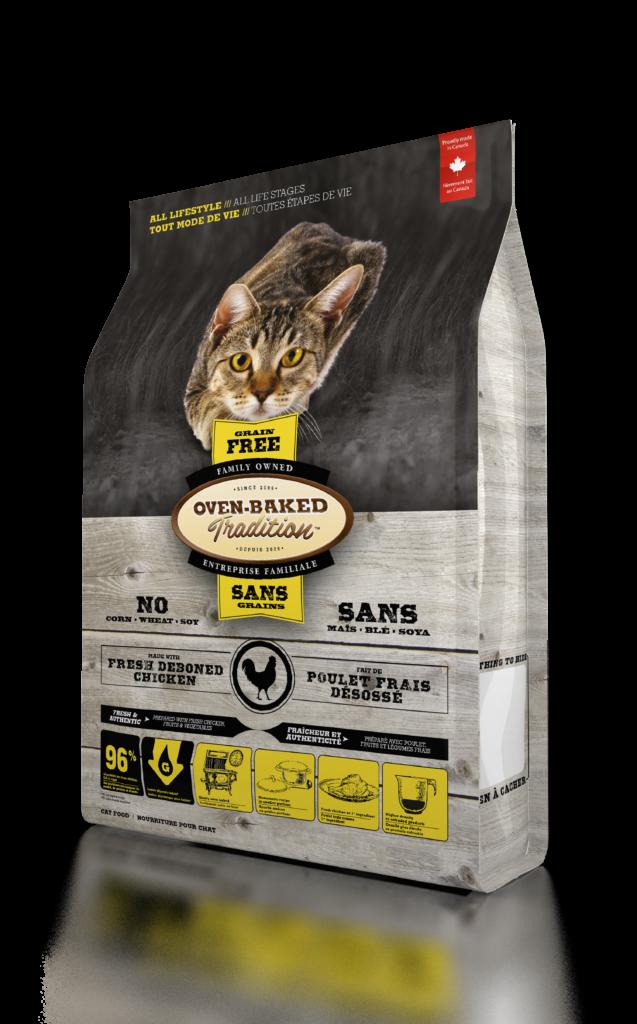 Oven-Baked Tradition Grain Free Chicken беззерновой корм для кошек всех возрастов с курицей