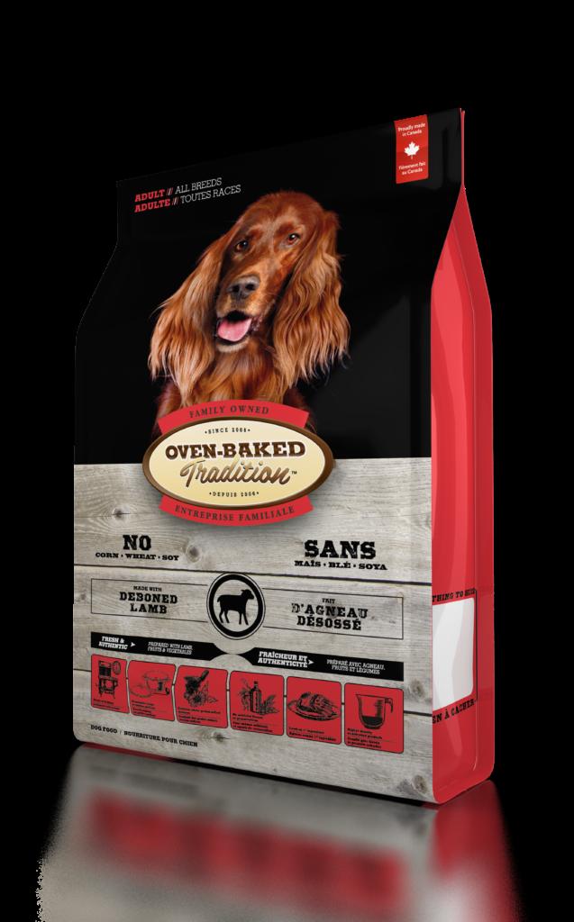 Oven-Baked Tradition Adult All Breed Lamb сухой корм для собак всех пород с ягненком, 11.34 кг