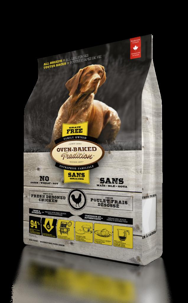 Oven-Baked Tradition Grain Free All Breed Chicken беззерновой корм для собак всех возрастов с курицей, 5.67 кг