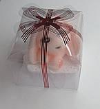 Мило ручної роботи зайчик рожевий, фото 2