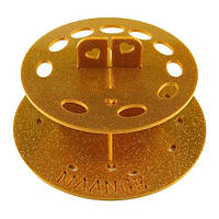 Подставка для кистей круглая PDK-KG (золотистая)