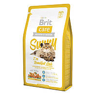 Brit Care (Брит кеа) Sunny Beautiful Hair Корм для кошек, шерсть которых требует дополнительного ухода, 7 кг