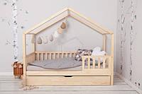 Детская кровать - домик с ящиками