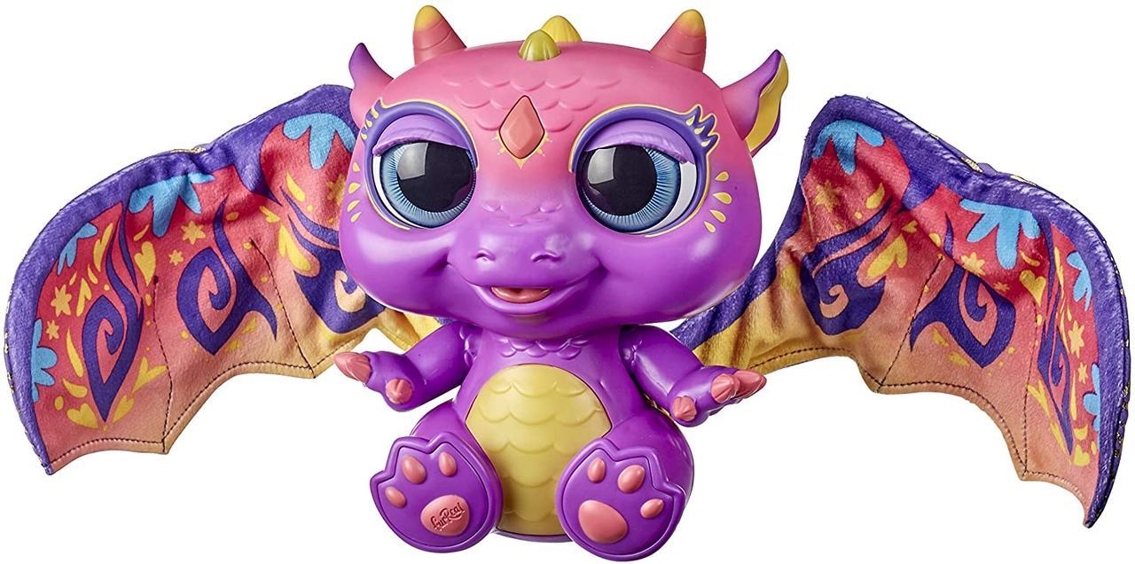 Интерактивная игрушка питомец Фуриал Малыш Дракон FurReal Friends Moodwings Baby Dragon F0633