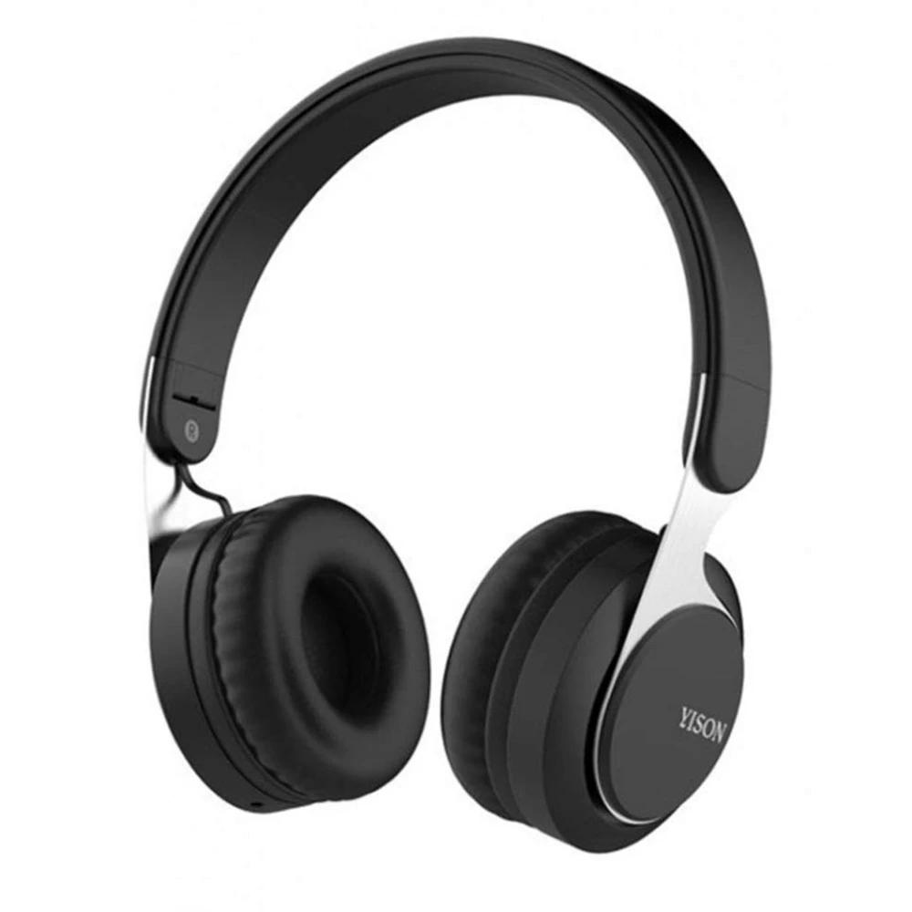 Bluetooth stereo наушники/mp3 Yison B1 беспроводные, стерео гарнитура  черные