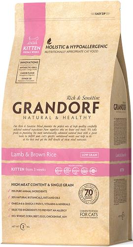 Grandorf (Грандорф) Lamb & Rice Kitten сухой корм для котят с ягненком, 6 кг