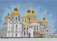 Схема на ткани для вышивания бисером Свято-Успенская Лавра КМР 3206