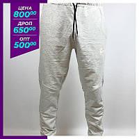 Мужские спортивные штаны Nike белый.Чоловічі спортивні штани Nike білий.
