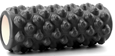Массажный ролл Profi (0857-5B) 33х14 см. Черный