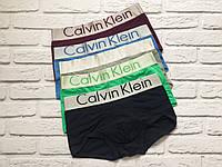 Трусы мужские Calvin Klein Steel боксеры, мужской набор Кельвин Кляйн реплика, фото 5