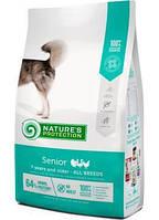 Nature's Protection Senior корм для пожилых собак всех пород