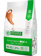 Nature's Protection Active корм для активных собак