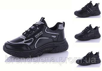 Женские кроссовки демисезонные р36-41 (код 2020-00) Черные.