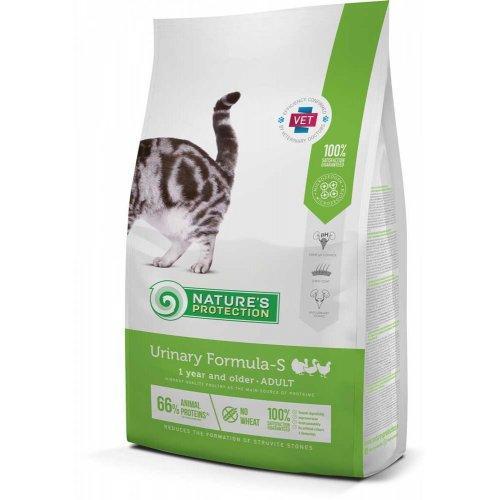 Nature's Protection Urinary Formula-S диетическое питание для взрослых кошек, 2 кг