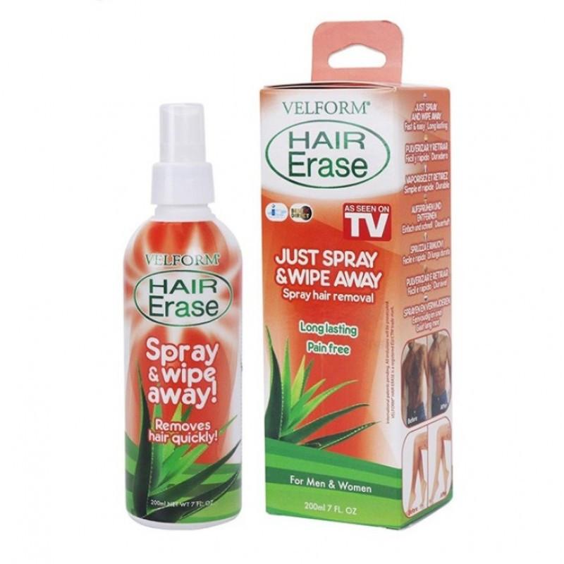 Спрей для депиляции Velform Hair Erase - средство для депиляции волос