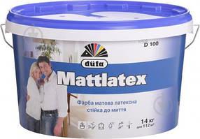 Краска матовая Dufa Mattlatex D100 (5л)