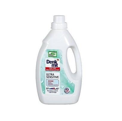 Лосьйон для прання вовняних і делікатних тканин Denkmit Ultra Sensitive 1,5л., 30 праннь.