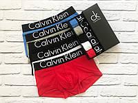 Мужской набор Calvin Klein Black Style боксеры, мужсие трусы Кельвин Кляйн реплика, фото 2