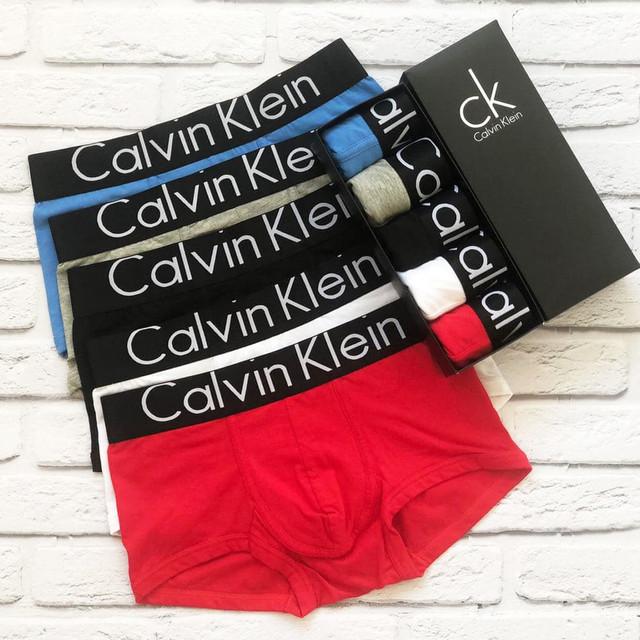 трусы мужские, мужской набор calvin klein steel, black style мужское белье, чоловічі труси, чоловічий набір, calvin klein